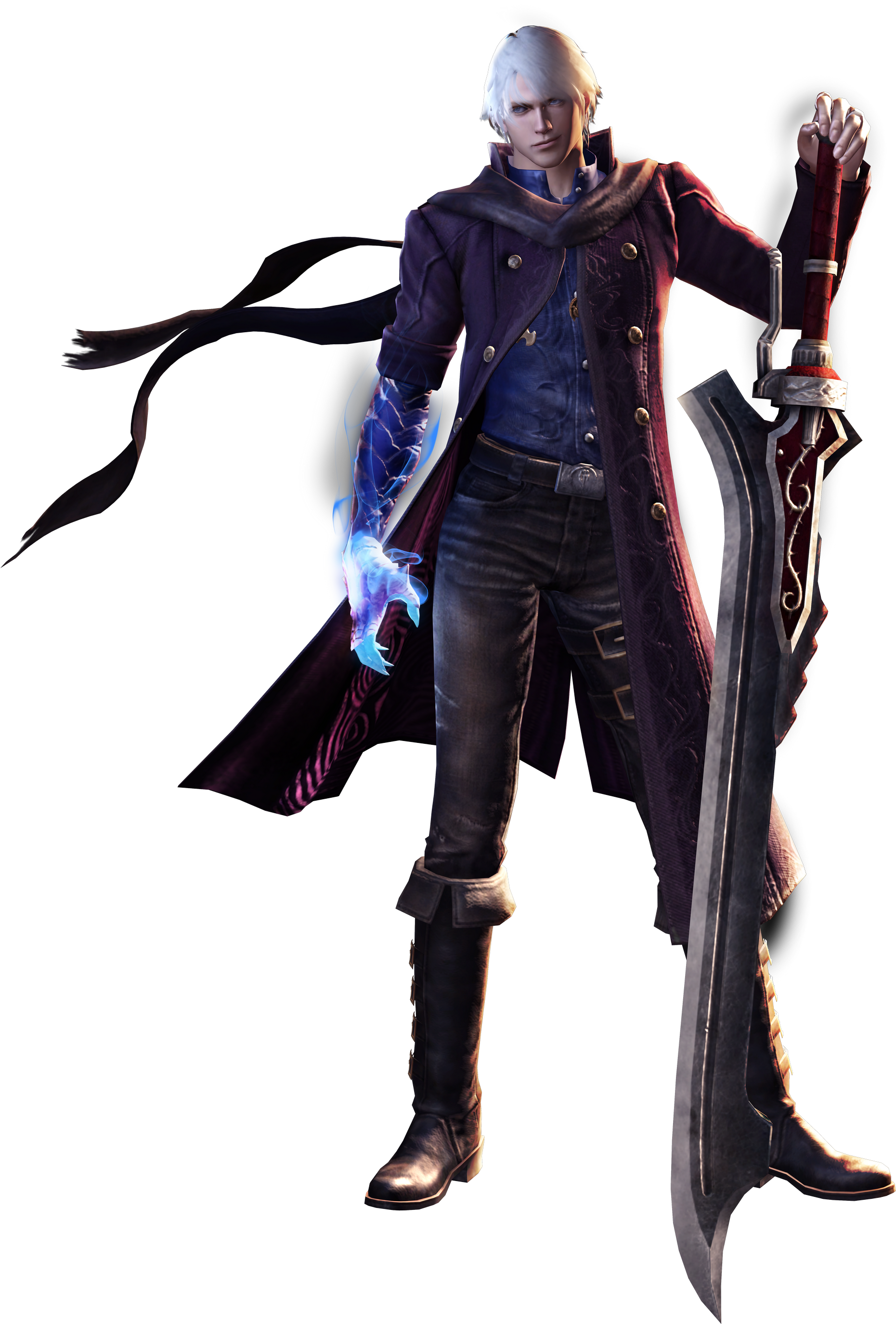Devil may cry png. Image prototype nero model