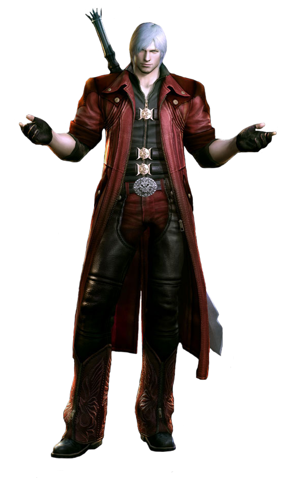 Devil may cry png. Image dante death battle