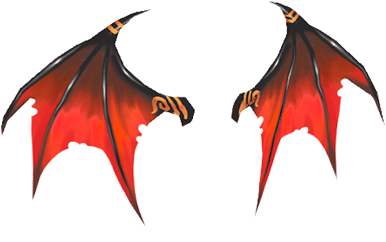 Devil wing png. Insertmeathere feather fluff friday