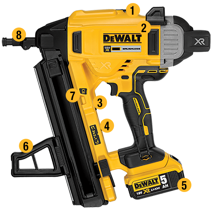 Dewalt clip. United kingdom dcn concrete