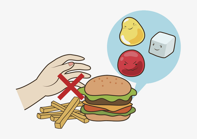 Diabetes clipart high blood sugar. People avoid hamburgers illness