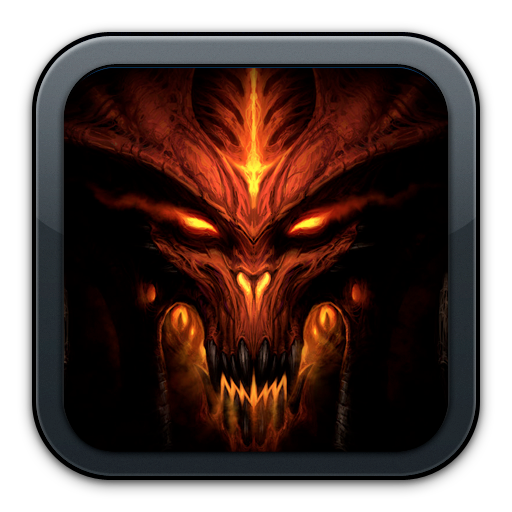 Diablo 3 icon png. Amazon com heroes of