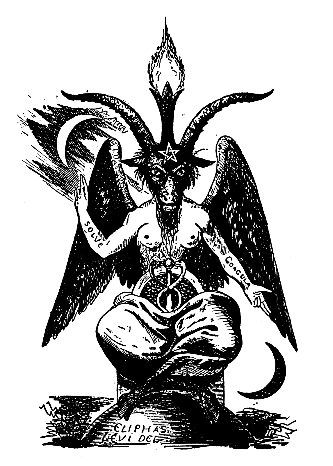 Diablo drawing 1. Baphomet random stuff i