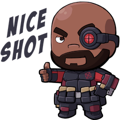 Diablo drawing deadshot. Christopher weiss justice league