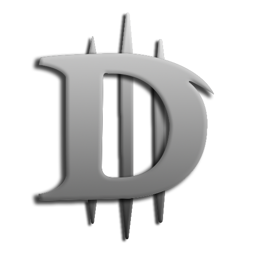 Diablo drawing easy. Token style icon by