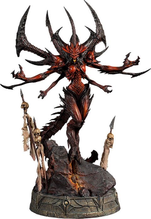 Diablo drawing imperius. Sideshow collectibles polystone statue