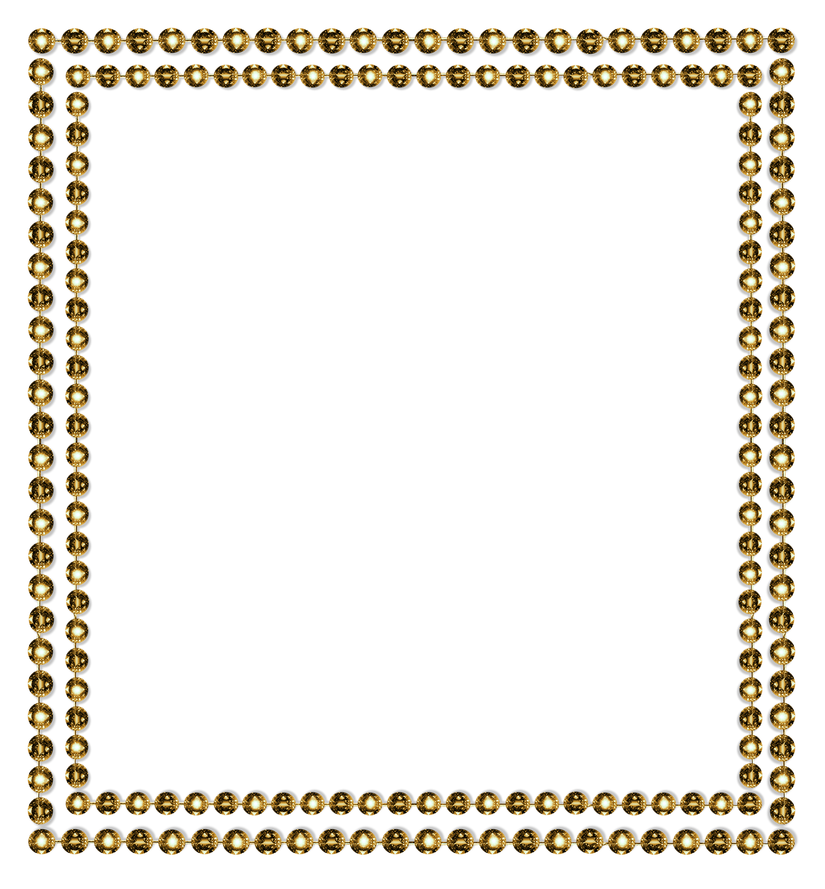 Diamond frame png. Border gold by jssanda