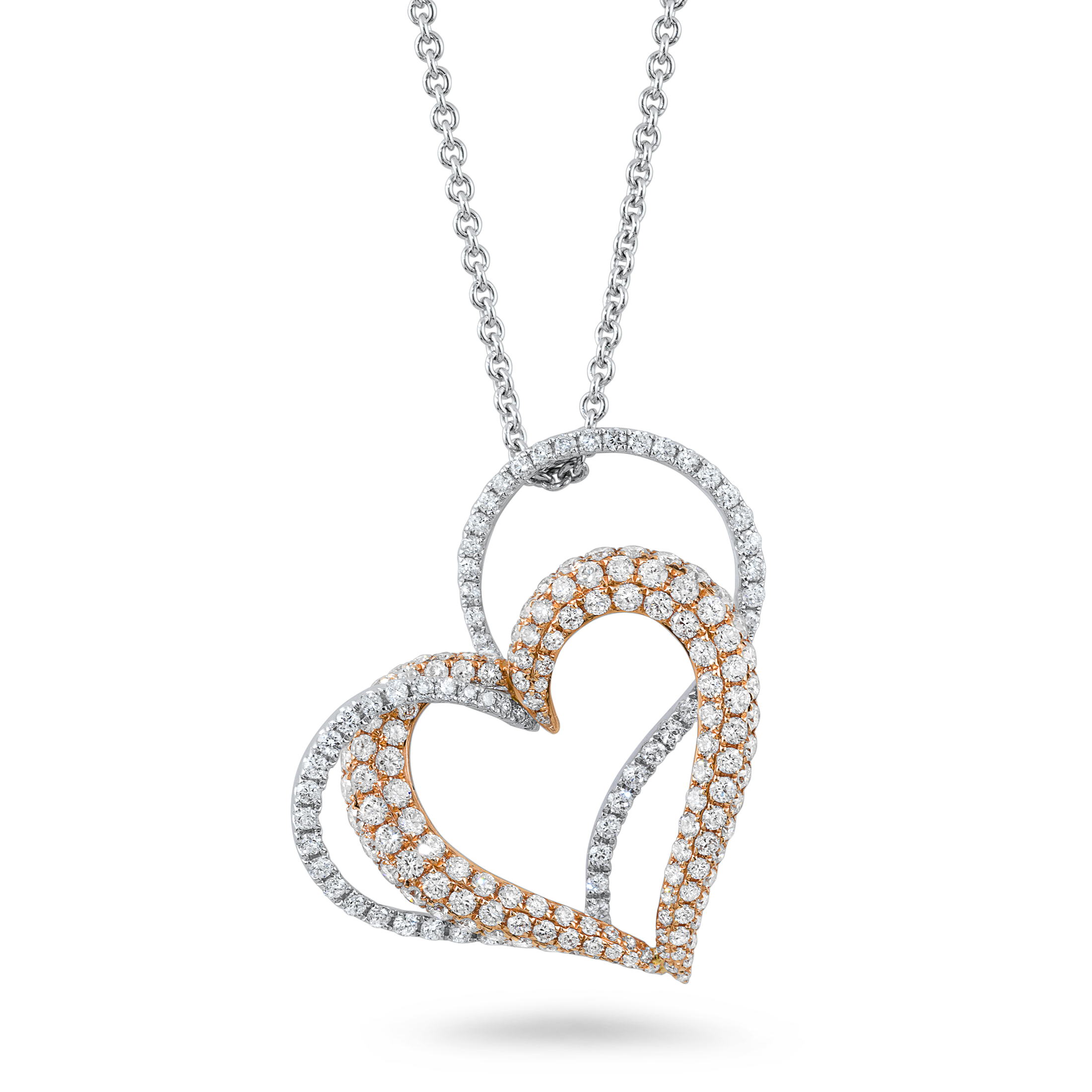 white gold chain png