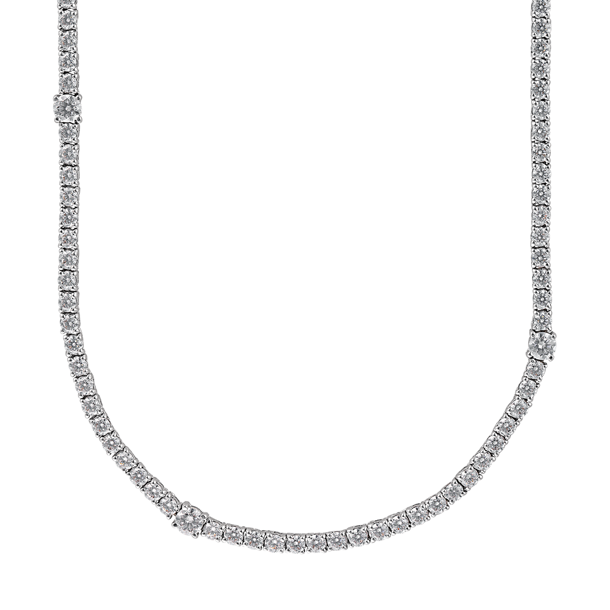Diamond chain png. Madeleine solitaire necklace ciro