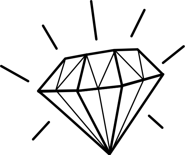 white diamond shape png