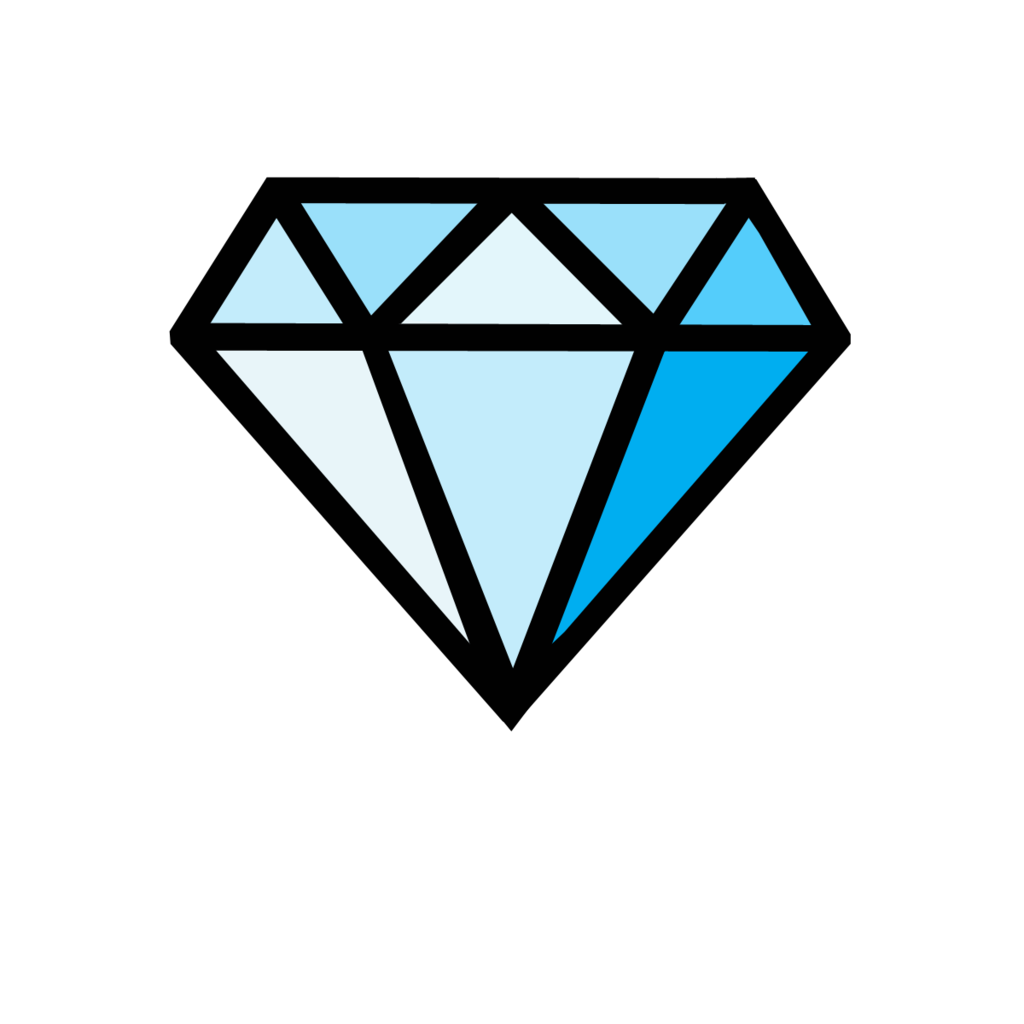 vector diamonds stencil