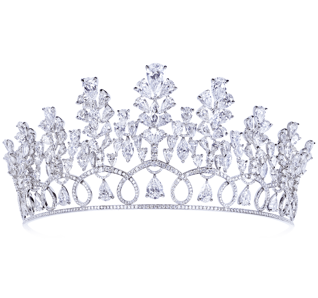 Diamond crown png. Exceptional high end jewellery