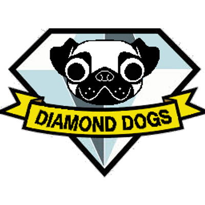 Diamond dogs logo png. Diamonddogsaa twitter