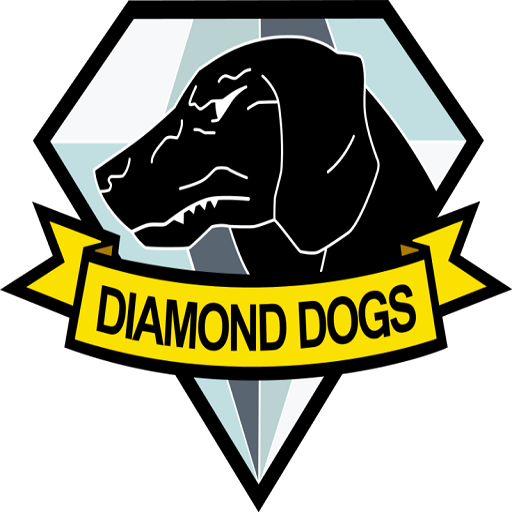 Diamond dogs png. Mgsv logo team fortress