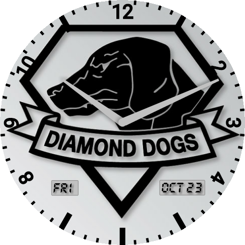 Diamond dogs png. Dog android wear watch
