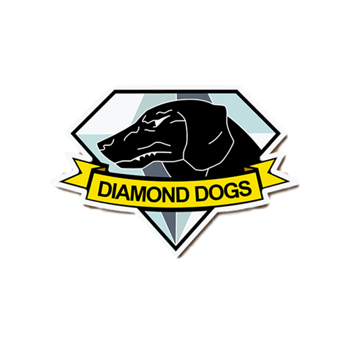 Diamond dogs png. Metal gear solid dog