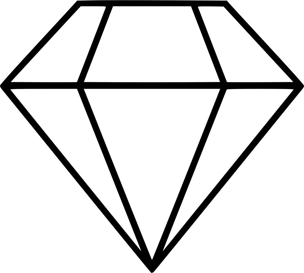 Diamond doodle png. Svg icon free download