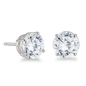 Earring transparent diamond. Png images in collection