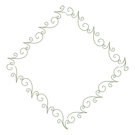 Diamond frame png. Transparent svg vector