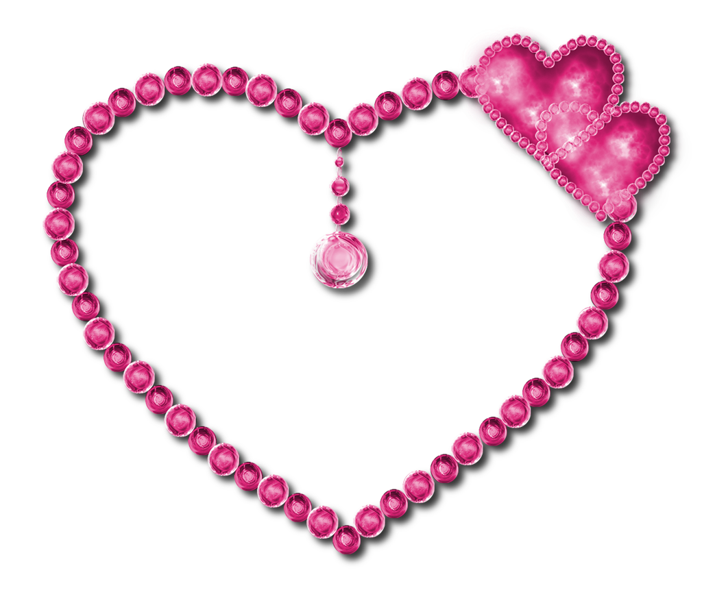 Diamond heart png. Pink pic mart