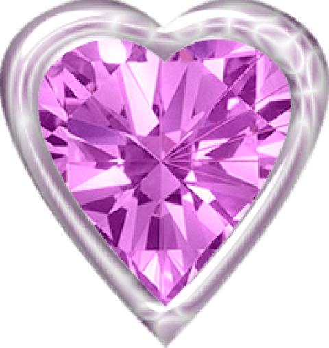 Diamond heart png. Pink free images toppng
