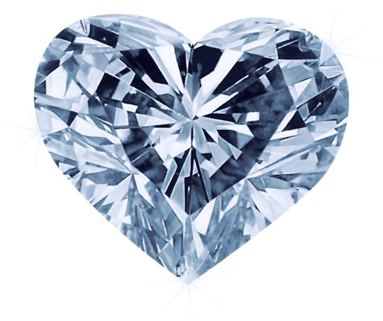 Diamond heart png. Download hd red transparent