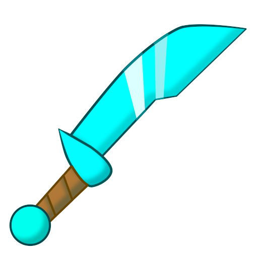 Diamond sword png. By astrorious on deviantart