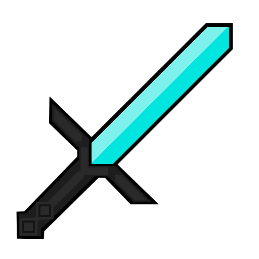Diamond swords crossing png. How is this made