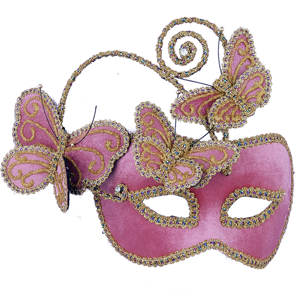 Pink masquerade masks png. Carnival mask the other