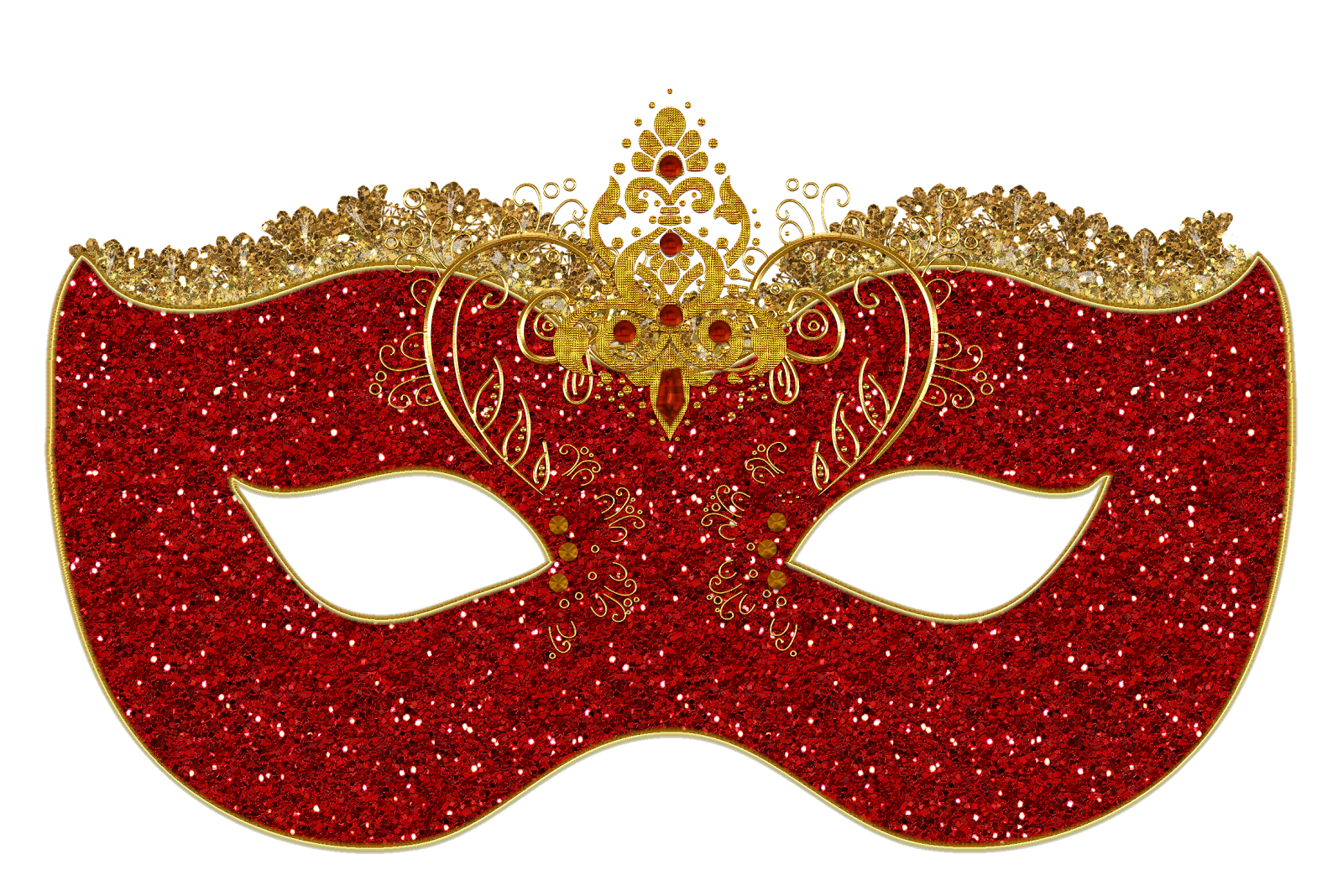 red masquerade mask png