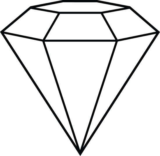 Diamonds clipart clip art. Diamond line shape inspiration