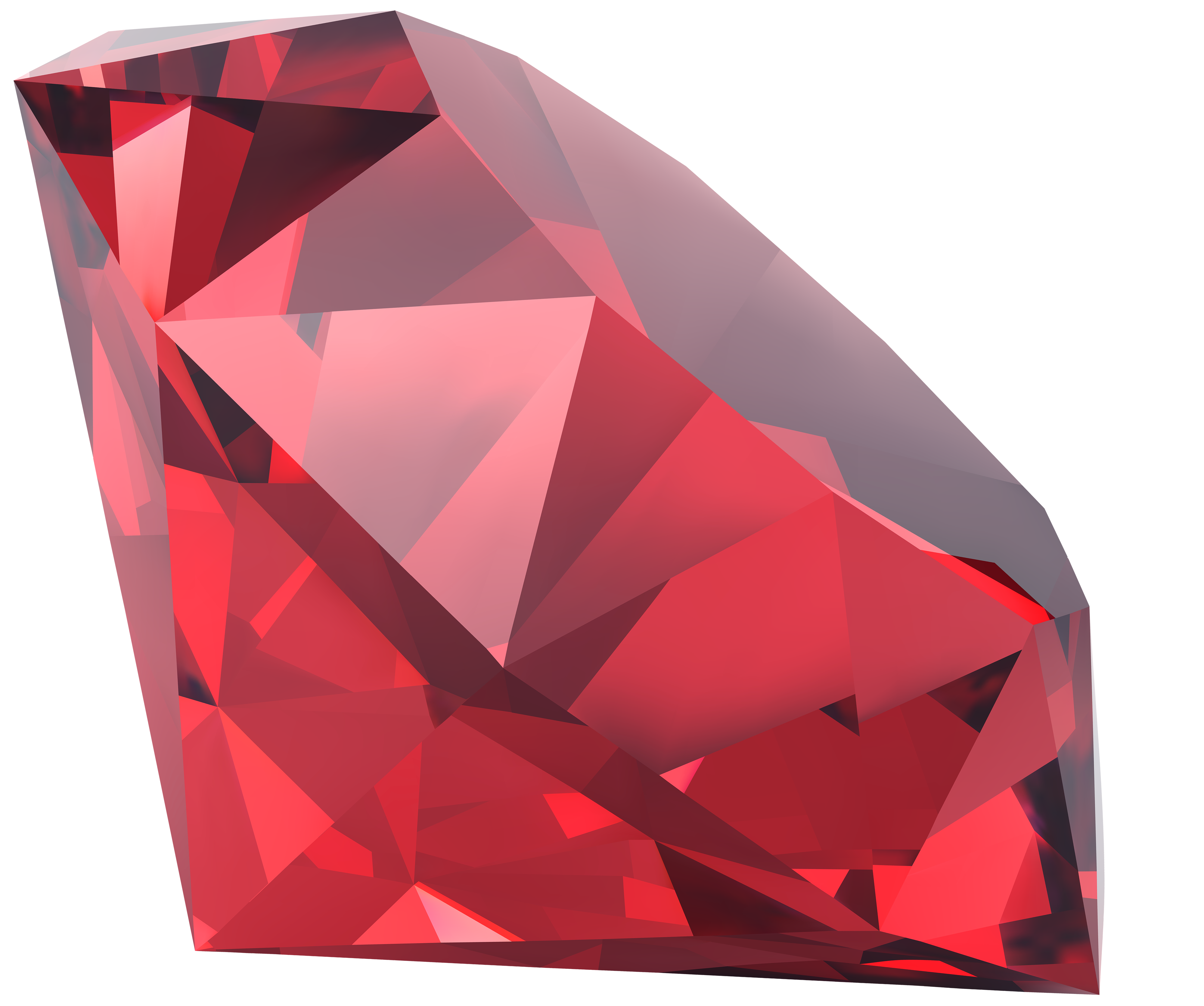 Ruby transparent best quality