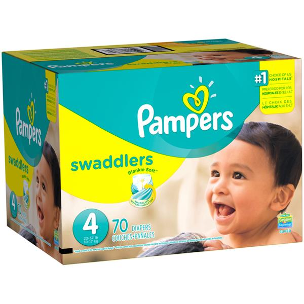 Pampers swaddlers size diapers. Diaper clipart diaper box image black and white library
