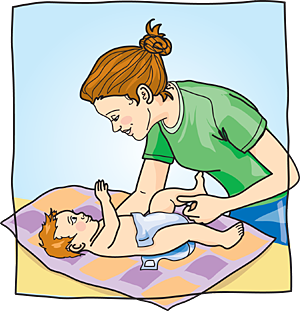 Diaper clipart diaper change. Clipartix