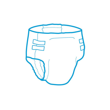 Diaper clipart incontinence. Adult glue