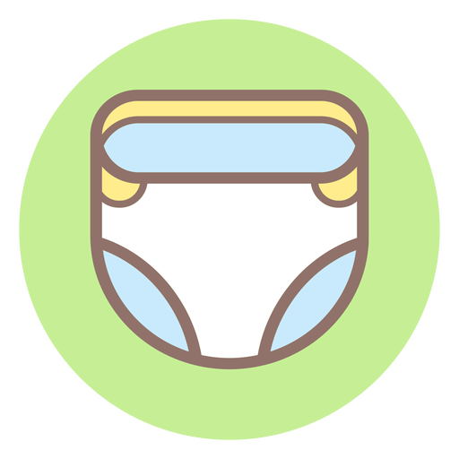 Diaper svg transparent. Baby circle icon png