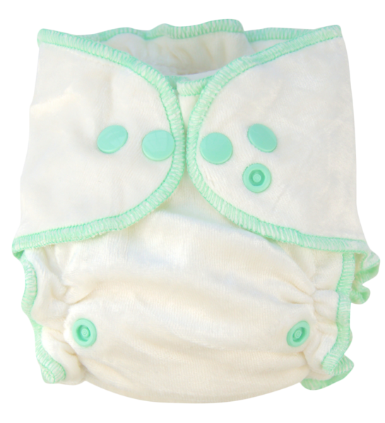Diaper transparent. Nuggles naturals bambooluxe fitted