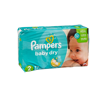 Diaper transparent baby pampers. Dry diapers units size