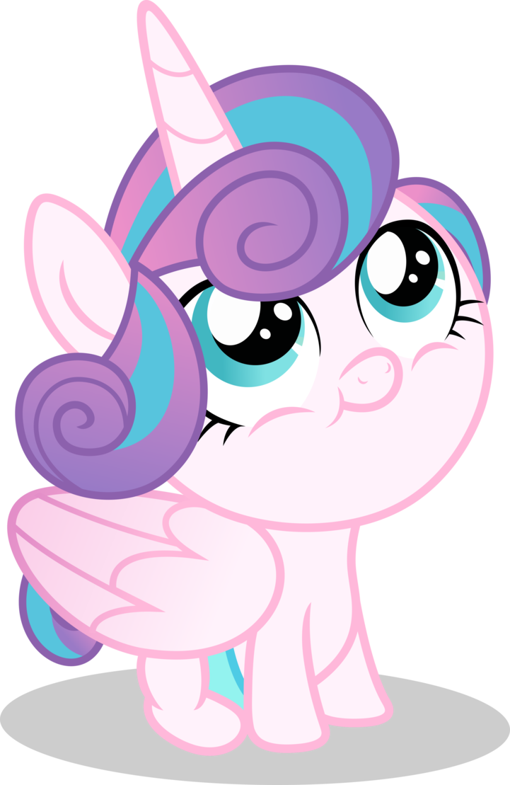 Mlp fim flurry heart. Drawing ponies cute svg free stock