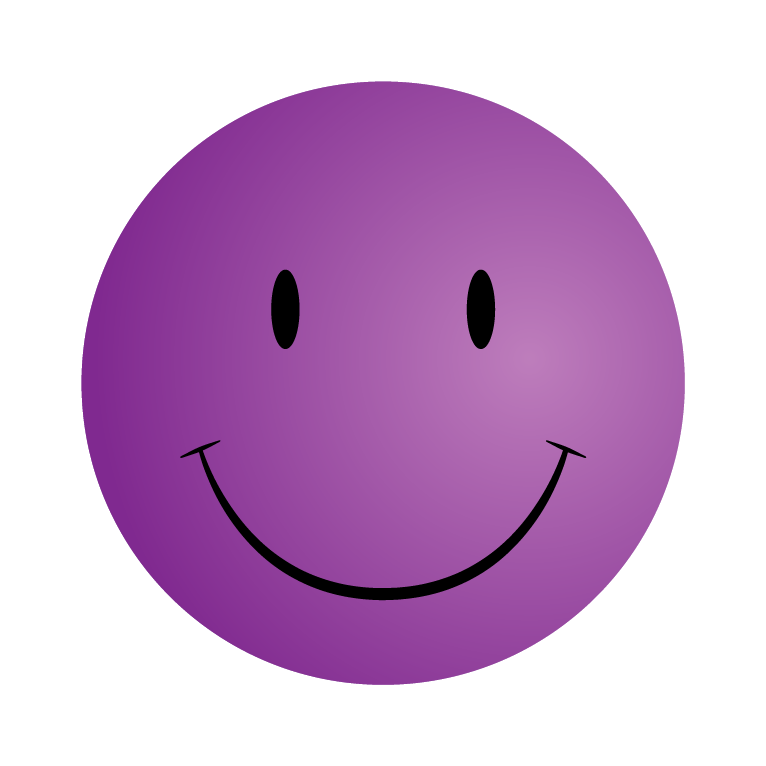 Smile clipart purple. Childrens aid and family