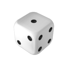 Dice png one. Transparent images pluspng filewhite