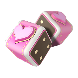 Pink dice png. Image lovely game of