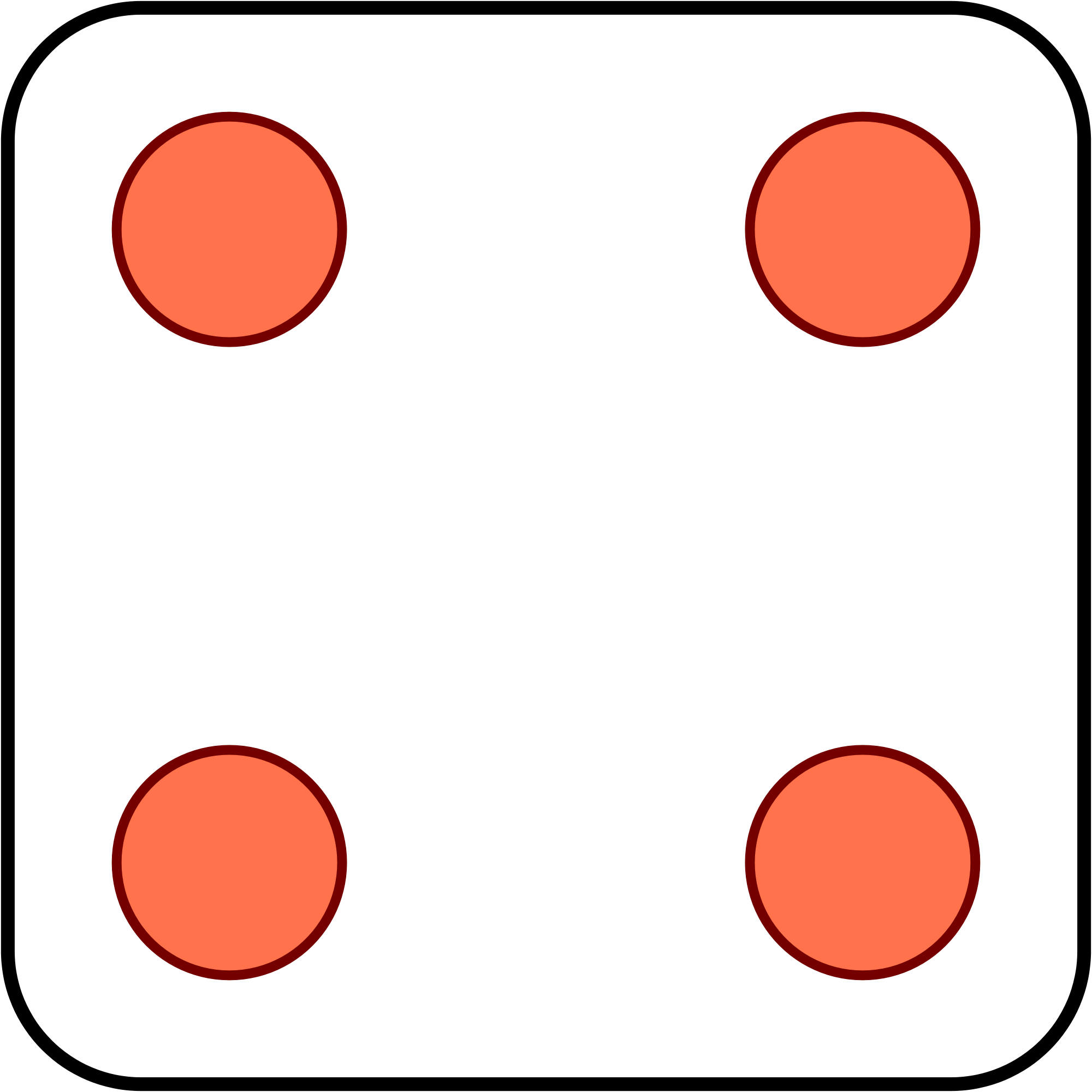 Dice 4 png. File svg wikimedia commons