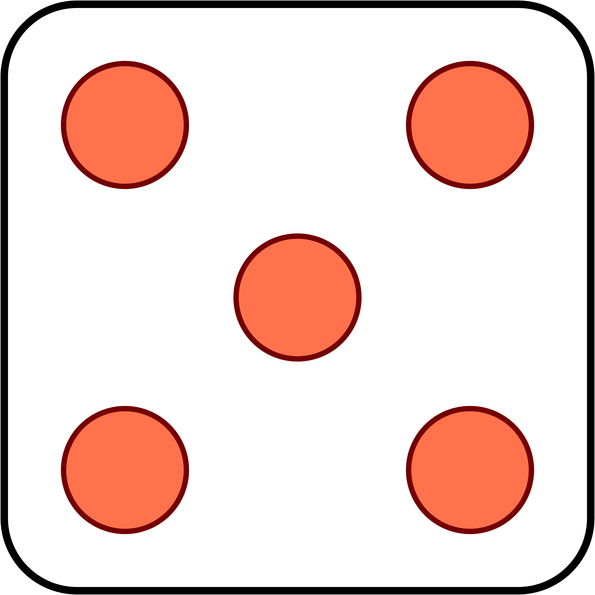Dice 5 png. File svg wikimedia commons