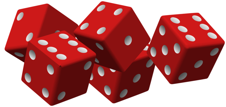 Dice clipart 3d dice. Gambling three dimensional space