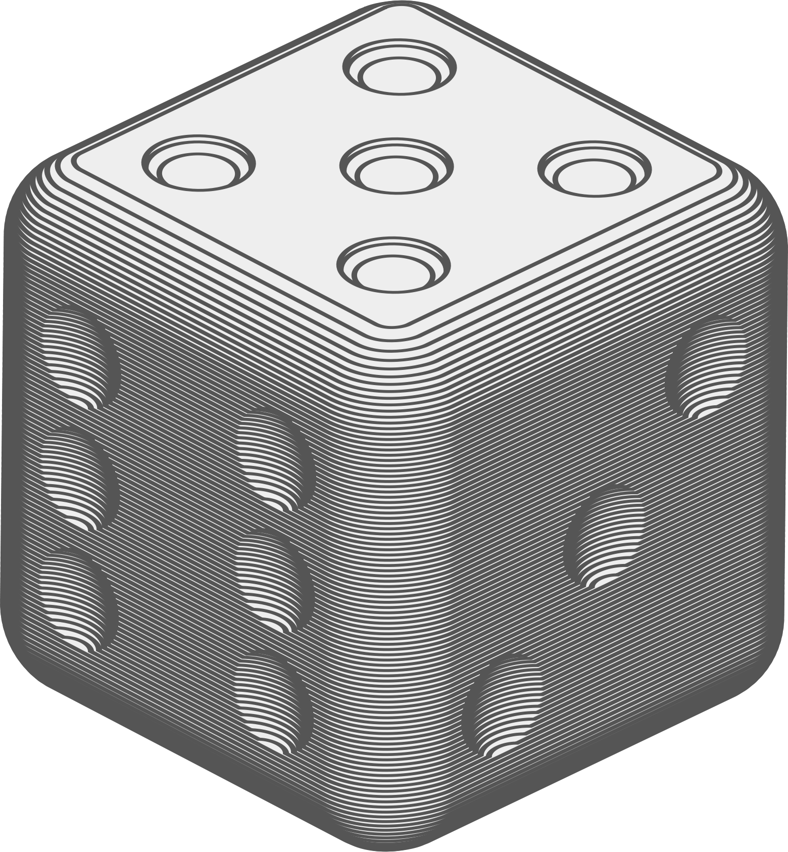 Dice clipart 3d dice. Animated die big image