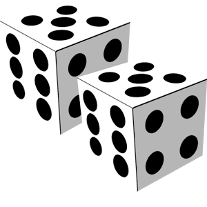 Dice clipart 3d dice. Images free group with