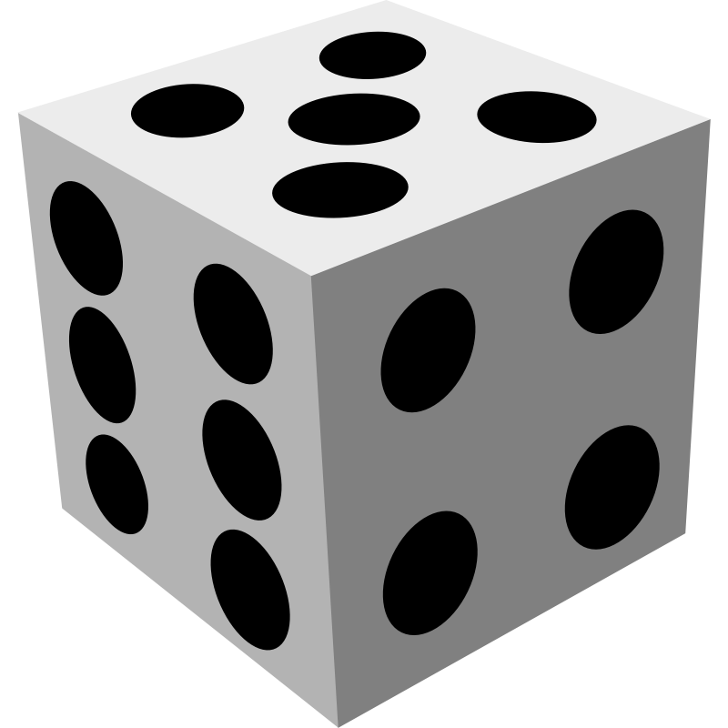 Dice clipart 3d dice. Free images download clip