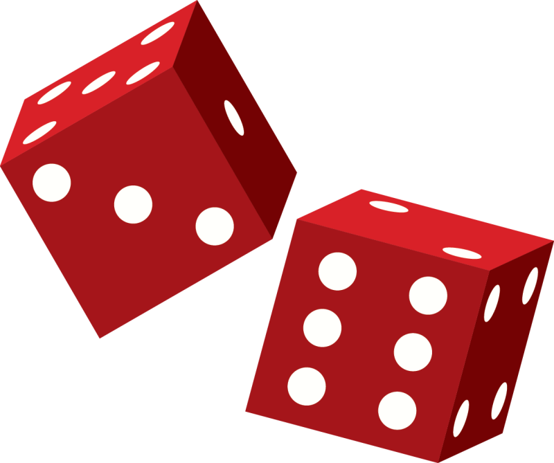 Dice clipart. Hubpicture