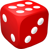 Dice clipart colored dice. Download free png photo
